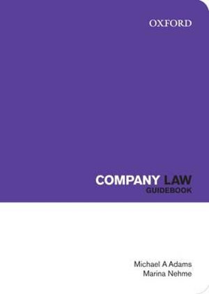 Cover of Company Law Guidebook
