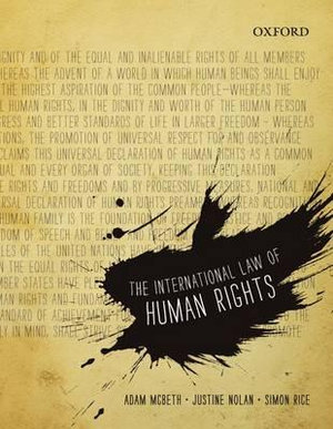 Cover of The International Law of Human Rights