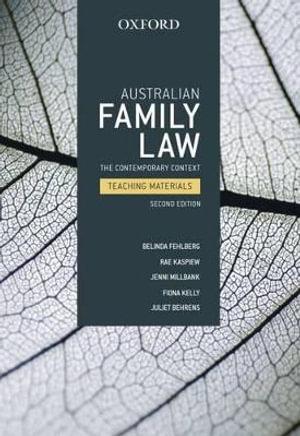 Cover of Australian Family Law