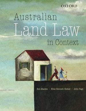 Cover of Australian Land Law in Context