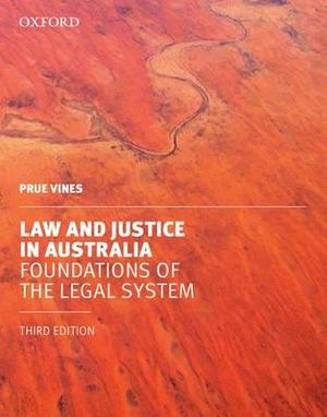 Cover of Law and Justice in Australia
