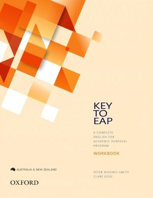 Cover of Key to EAP Student Workbook