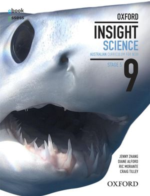 Cover of Oxford Insight Science 9 AC for NSW Student Book + Obook/assess