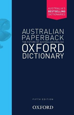 Cover of Australian Oxford Paperback Dictionary