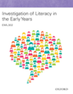 Cover of Investigation of Literacy in the Early Years: EML302