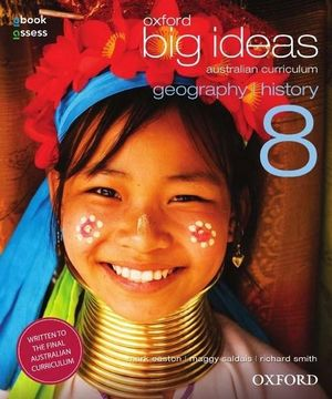 Cover of Oxford Big Ideas Geography History 8