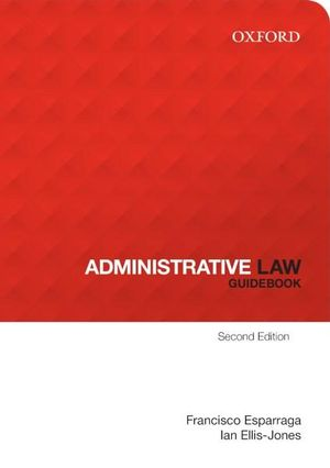 Cover of Administration Law Guidebook