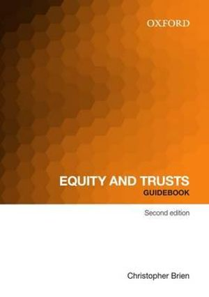Cover of Equity and Trust Guidebook