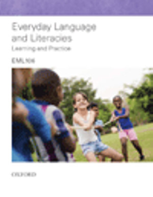 Cover of Everyday Language and Literacies: EML106