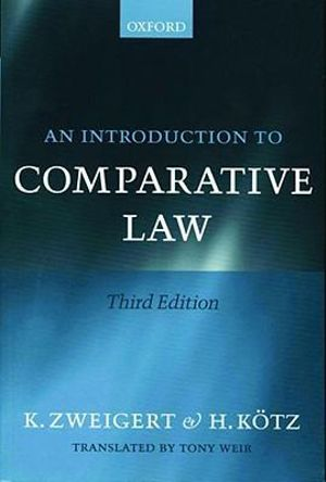 Cover of An Introduction to Comparative Law
