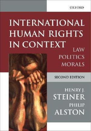 Cover of International Human Rights in Context