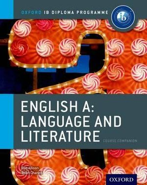 Cover of IB English Language & Literature Course Book