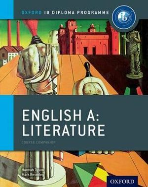 Cover of IB English A Literature Course Book