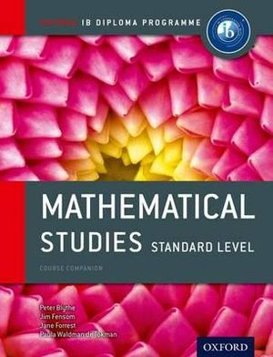 Cover of IB Mathematical Studies SL Course Book