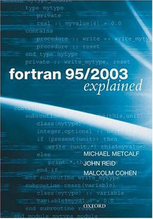 Cover of Fortran 95/2003 Explained