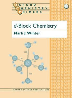 Cover of D-Block Chemistry