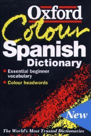 Cover of The Oxford Color Spanish Dictionary