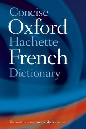 Cover of Dictionnaire Hachette-Oxford Concise