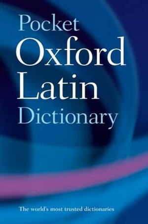 Cover of Pocket Oxford Latin Dictionary