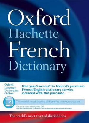 Cover of Grand Dictionnaire Hachette-Oxford