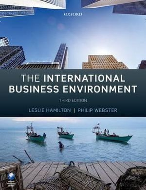 Cover of The International Business Environment