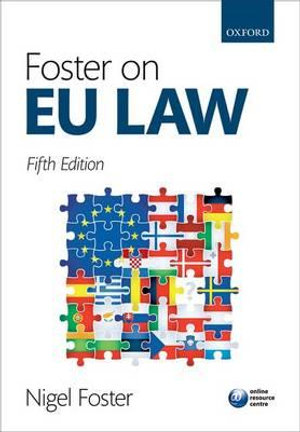 Cover of Foster on Eu Law