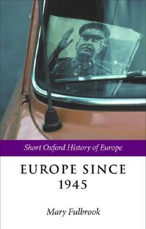 Cover of Europe since 1945