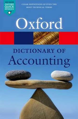 Cover of A Dictionary of Accounting