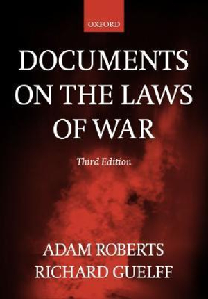 Cover of Documents on the Laws of War