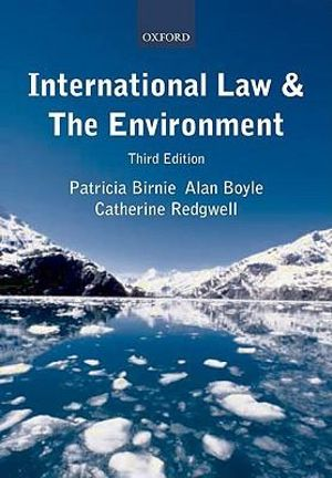 Cover of International Law and the Environment