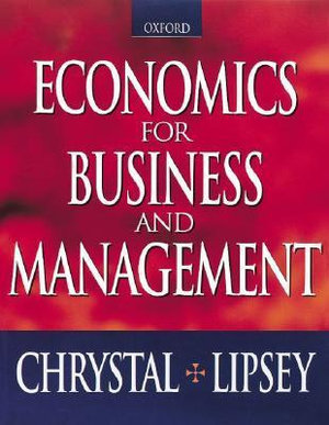 Cover of Economics for Business and Management