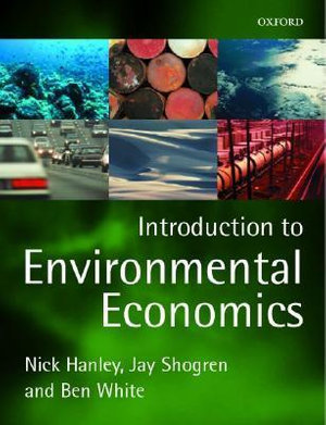 Cover of Introduction to Environmental Economics