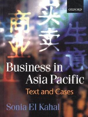 Cover of Business in the Asia Pacific