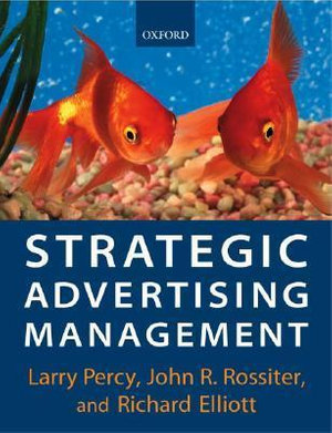 Cover of Strategic Advertising Management