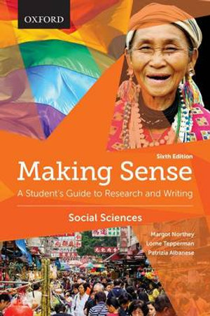 Cover of Making Sense in the Social Sciences