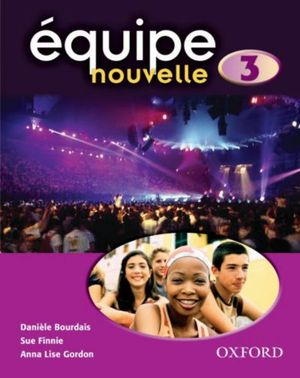Cover of Quipe Nouvelle Part 3. Students' Book