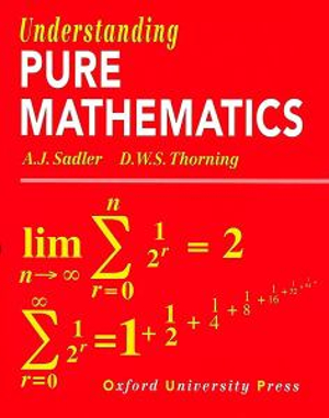 Cover of Understanding Pure Mathematics