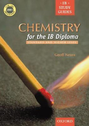 Cover of Chemistry for the IB Diploma