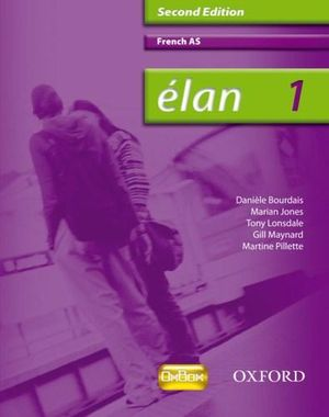 Cover of Élan: 1: AS Students' Book