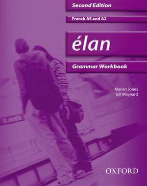 Cover of Élan: Grammar Workbook & CD