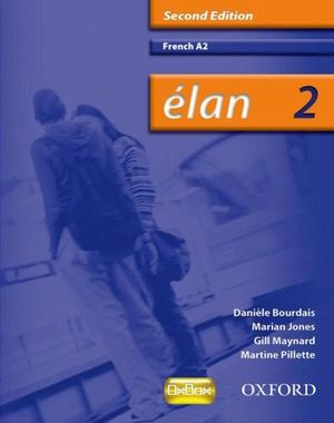 Cover of Élan: 2: A2 Students' Book