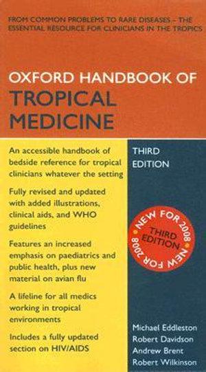 Cover of Oxford Handbook of Tropical Medicine