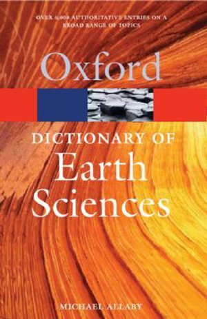 Cover of Dictionary Of Earth Sciences