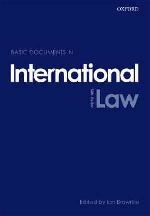 Cover of Basic documents in international law