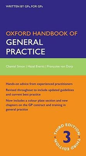 Cover of Oxford Handbook of General Practice