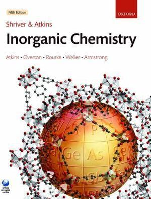 Cover of Shriver & Atkins Inorganic Chemistry