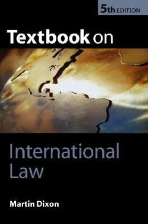 Cover of Textbook on international law