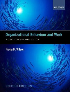 Cover of Organizational Behaviour and Work