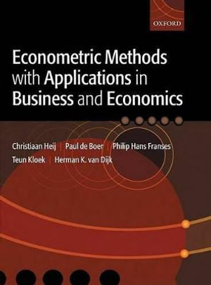 Cover of Econometric Methods with Applications in Business and Economics