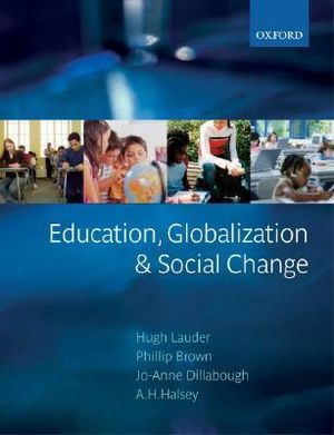 Cover of Education, Globalization, and Social Change